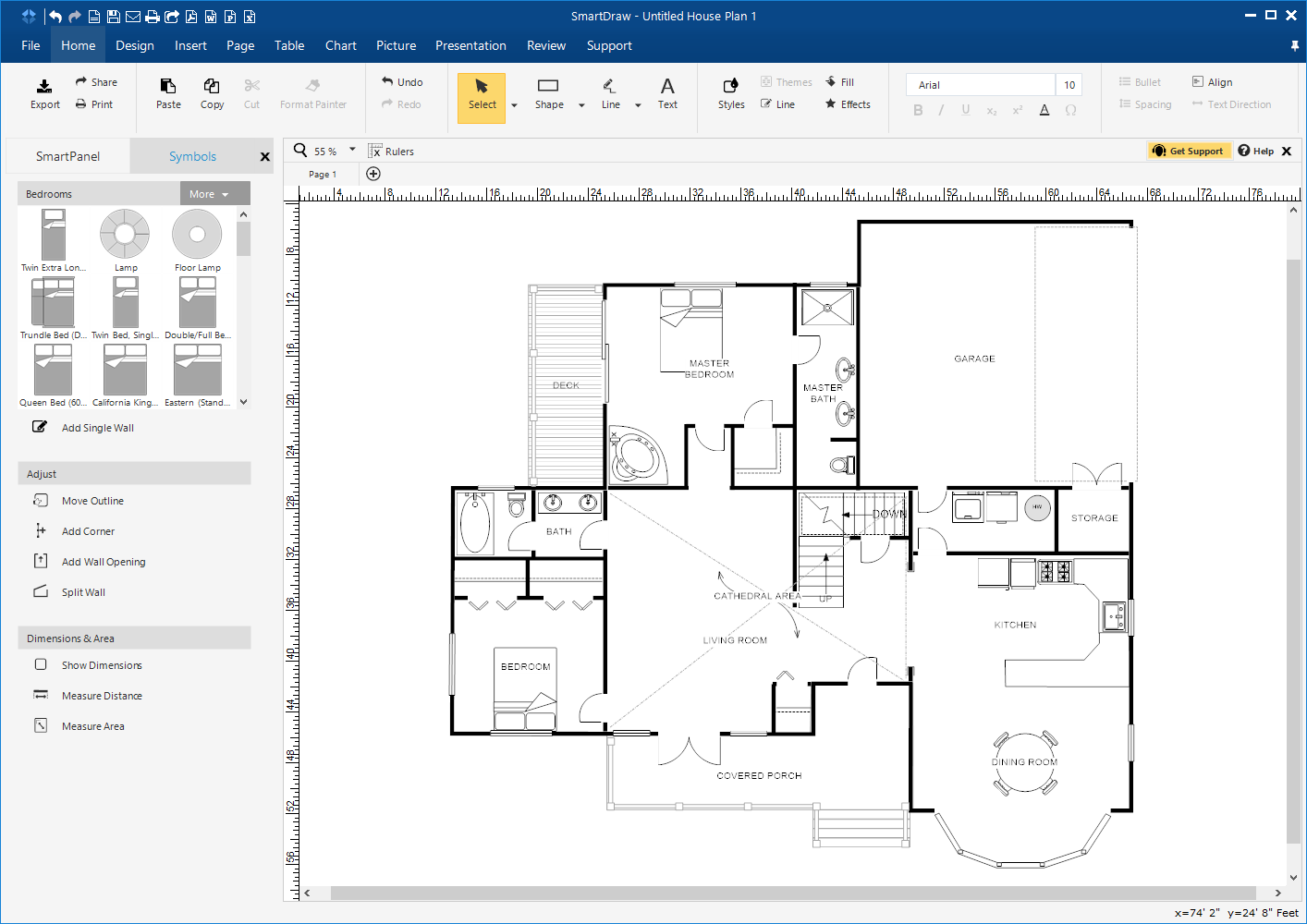 floor plans - Smartdraw Support