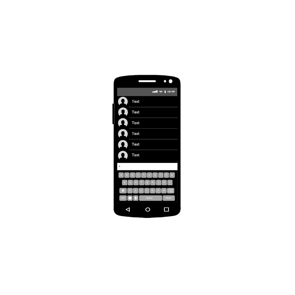 Example Image: Android - Contacts
