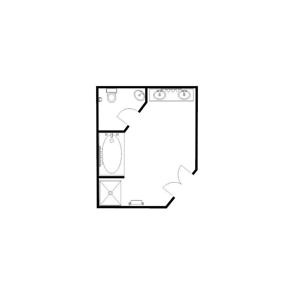 Design A Bathroom Floor Plan Bathroom Floor Plan