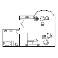 master bedroom with office floor plans. Bedroom Plans Floor Plan Examples