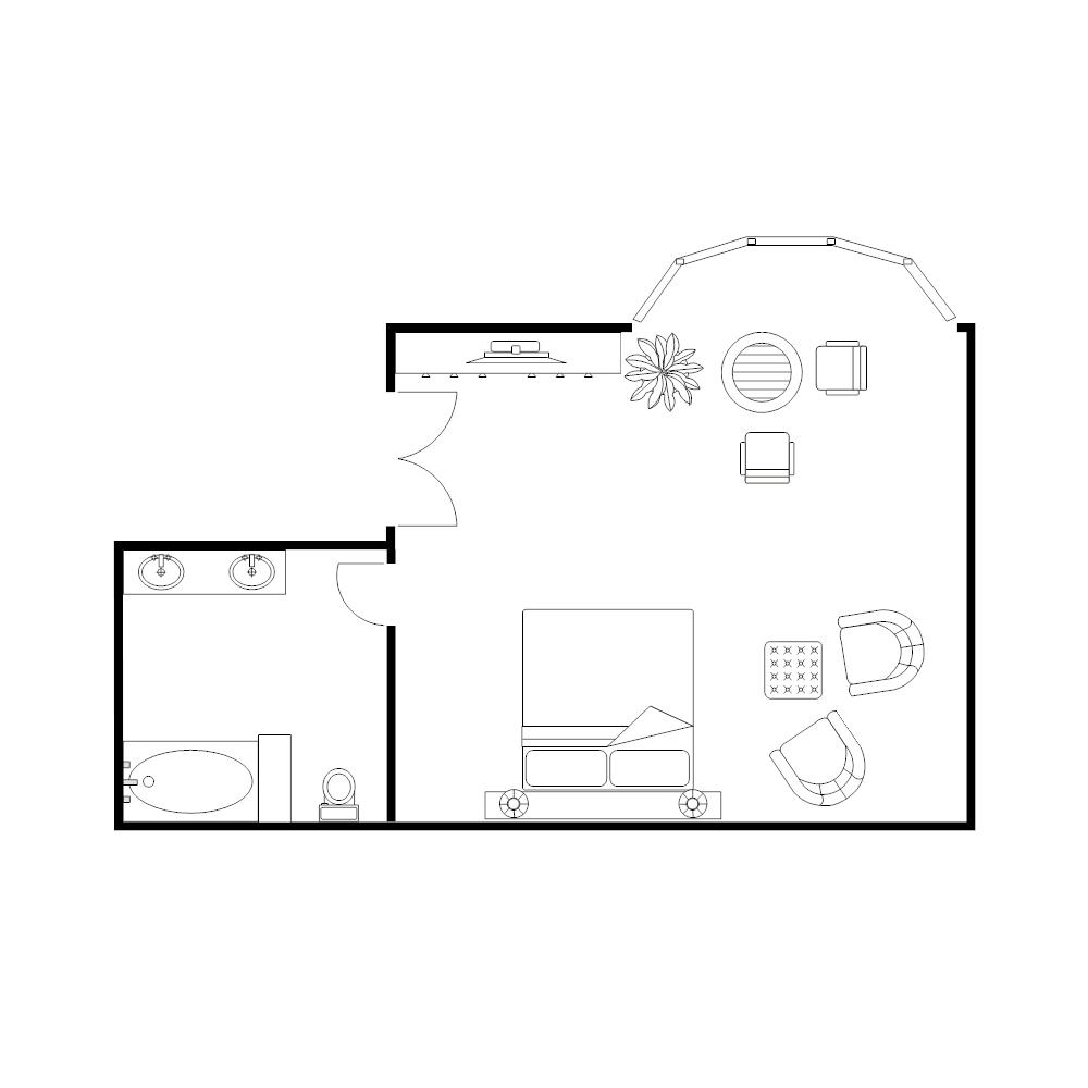 Master bedroom plan for Layout design for master bedroom