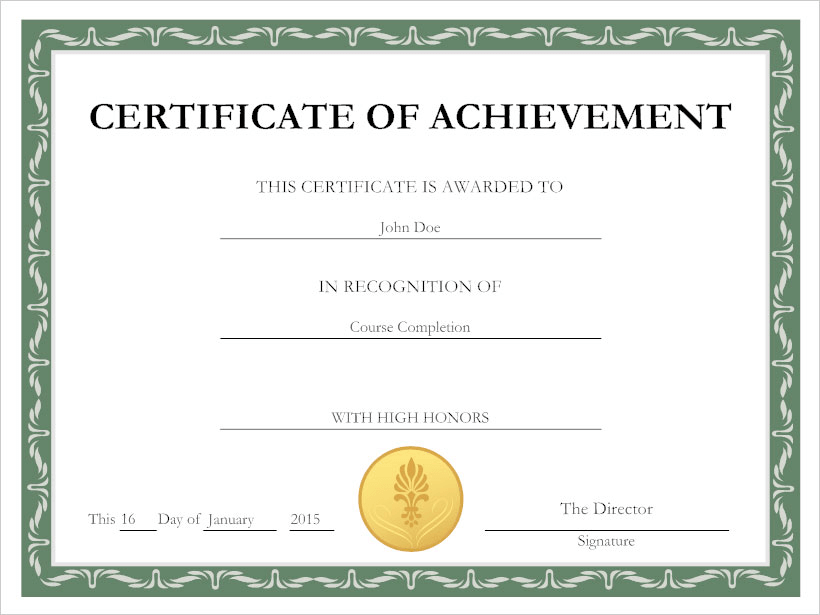 Professional Certificate Maker Free Online App And