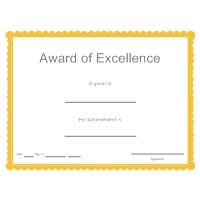 biggest loser award certificate template