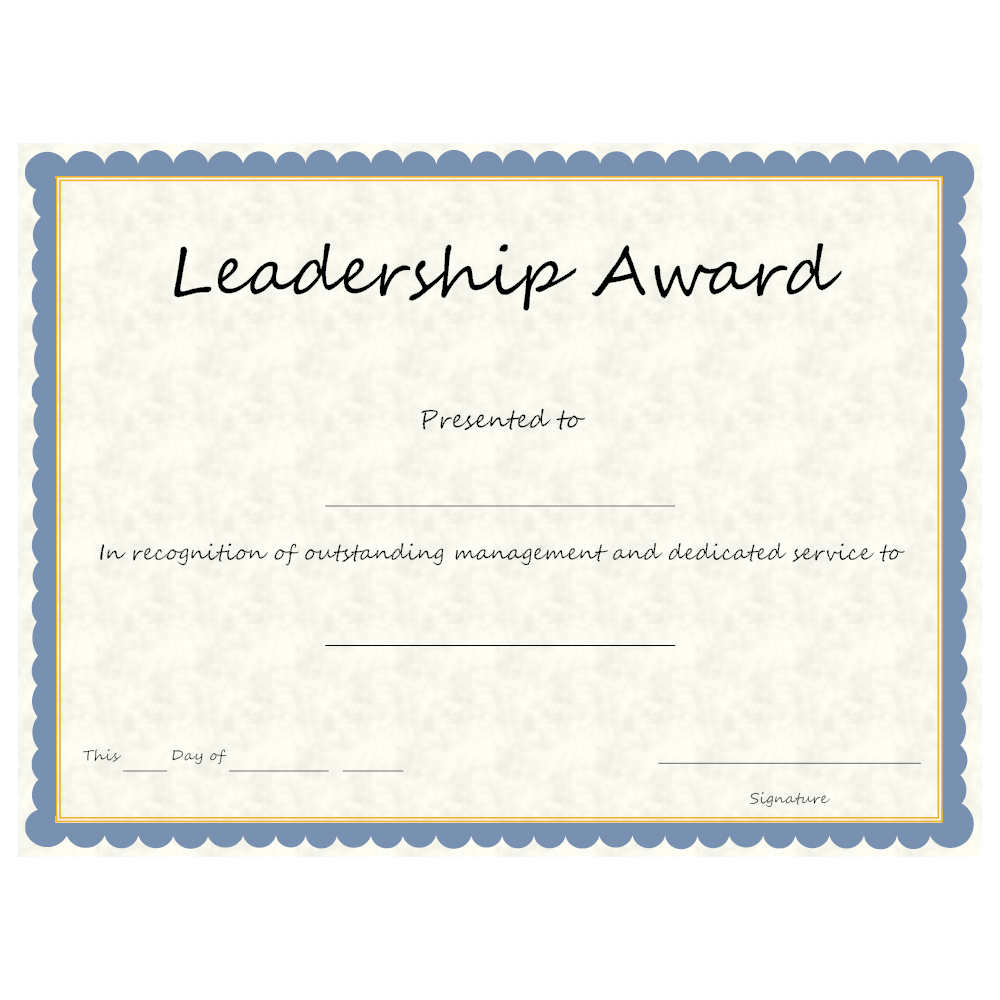 Pretty student award certificate template pictures inspiration unusual certificate of leadership template photos example resume yelopaper Gallery