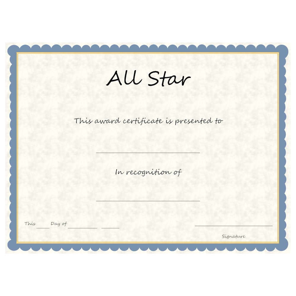 Example Image: Sports - All Star