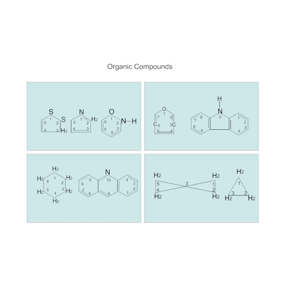 Example Image: Organic Compound Diagram