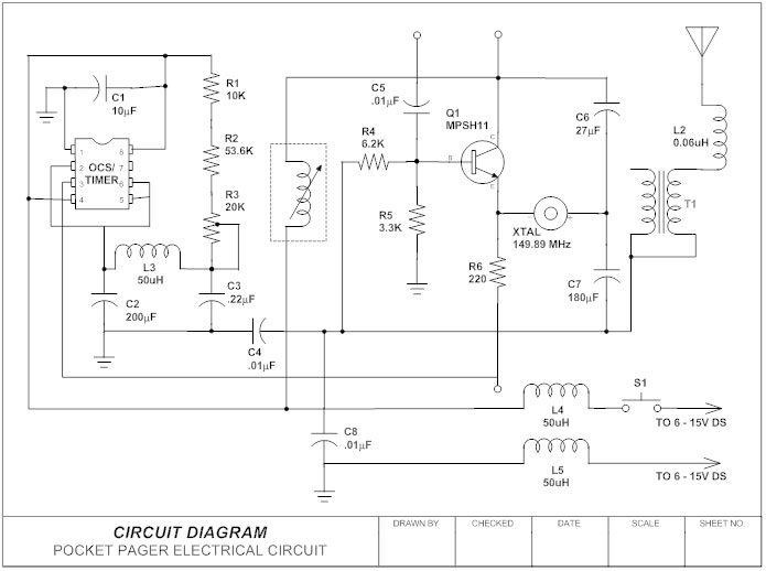 circuit diagram learn everything about circuit diagrams rh smartdraw com electrical ladder logic diagrams One Line Electrical Diagram