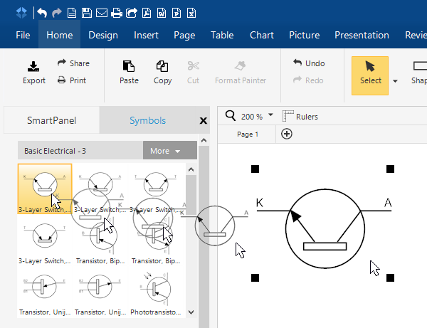 how to draw electrical diagrams and wiring diagrams rh smartdraw com drawing electrical circuit diagrams in word drawing electrical circuit diagrams in word