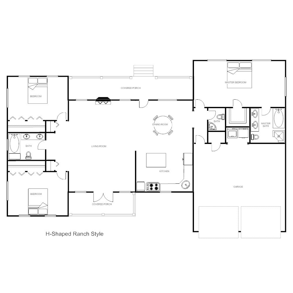 House Plan H Ranch