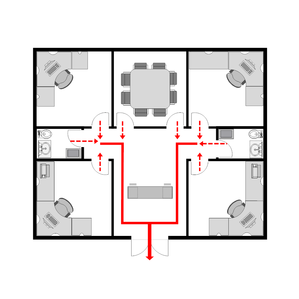evacuation plan template for office 28 images custom