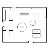 Boutique Floor Plan