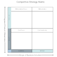 Competitive Strategy Matrix
