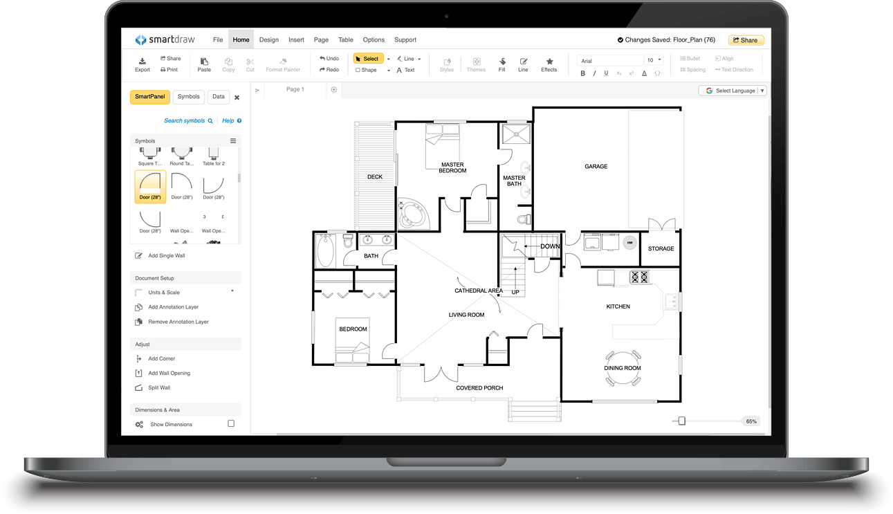 SmartDraw - Create Flowcharts, Floor Plans, and Other