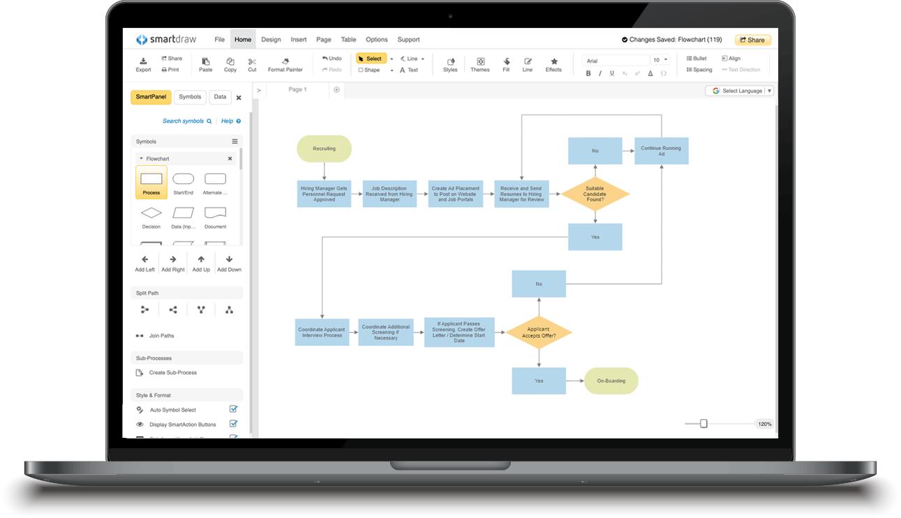 SmartDraw - Create Flowcharts, Floor