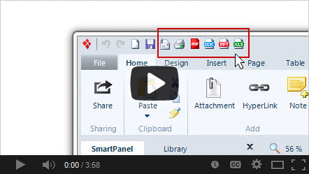Learn more about MS Office Integration in SmartDraw