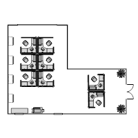 Cubicle Plan Examples