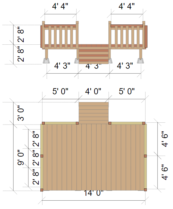 Deck designer online app or free download deck elevation malvernweather Gallery