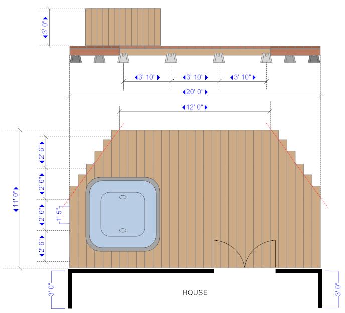 Deck Floor Plans Gurus Floor