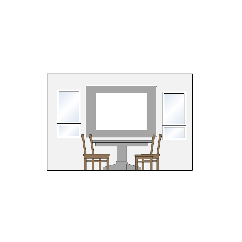 Example Image: Dining Room Elevation - 1