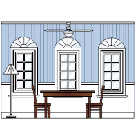 Dining Room Elevation - 3