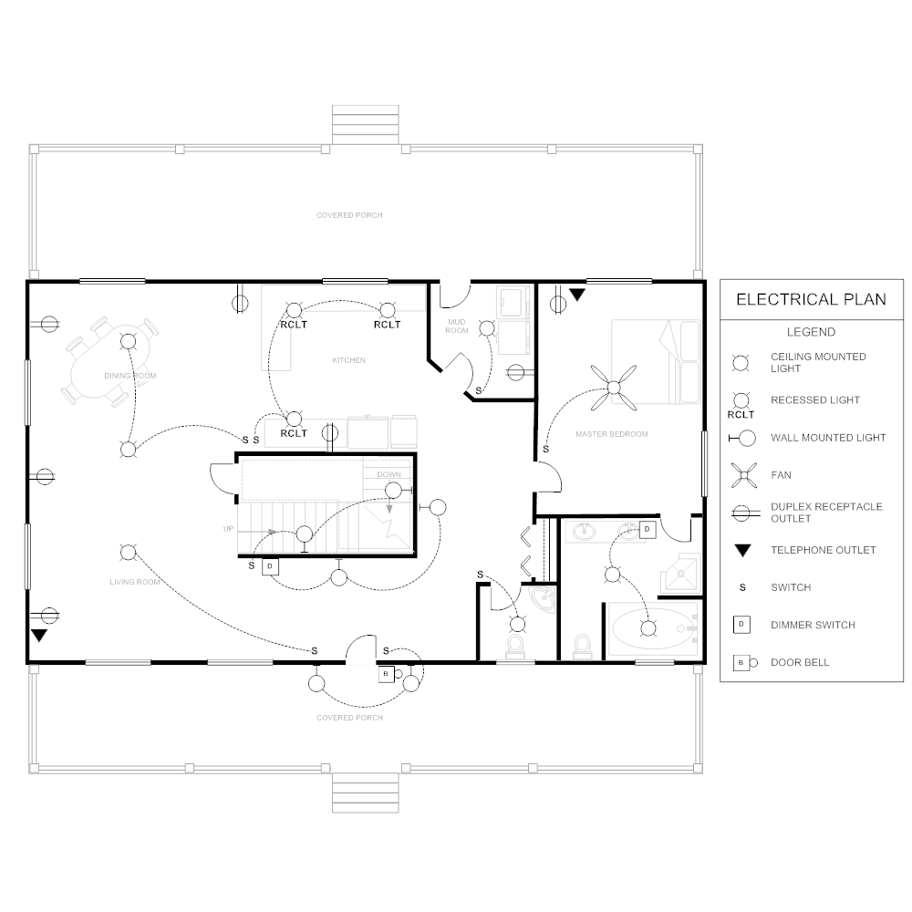 electrical planclick to edit this example · example image electrical plan