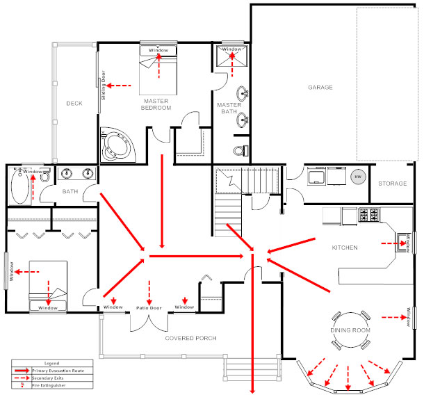 Emergency Evacuation Floor Plan Template – Gurus Floor