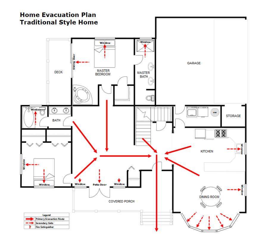 fire escape plan maker