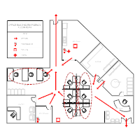 fire evacuation plan template for office evacuation plan templates