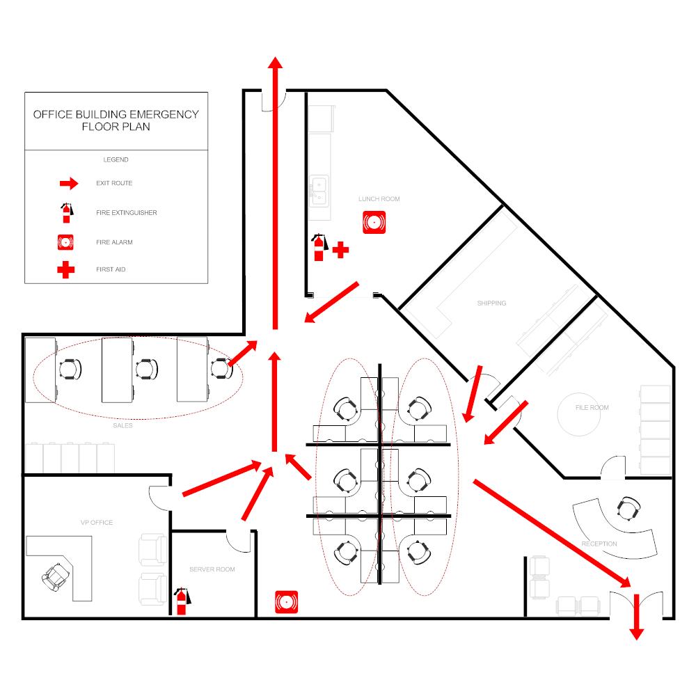Office Evacuation Plan – Evacuation Plan Template