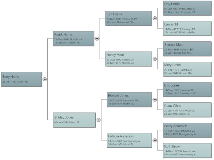 Family tree everything you need to know to make family trees for Draw a family tree template