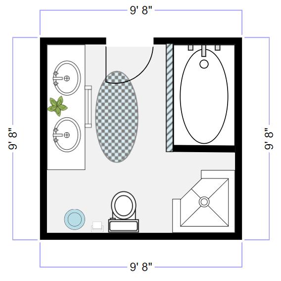 bathroom design software   free online tool, designer & planner