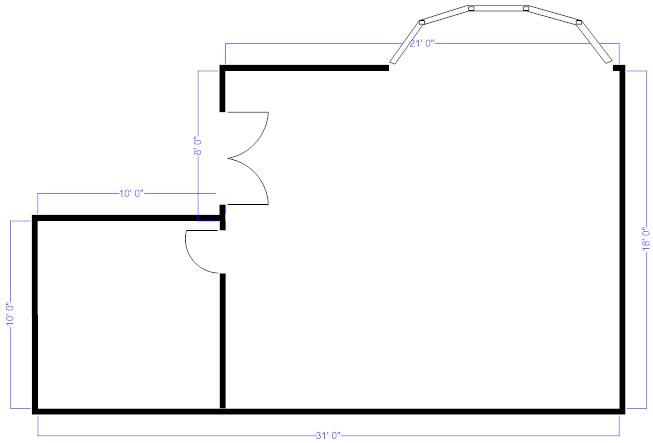 Floor Plan Measurements Draw Walls