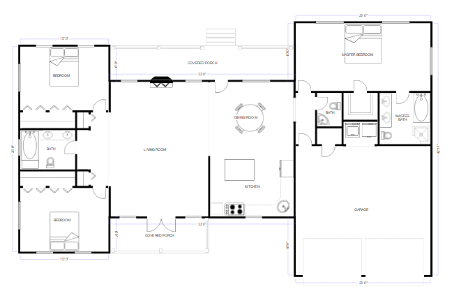 cad drawing - Floor Plan Tools