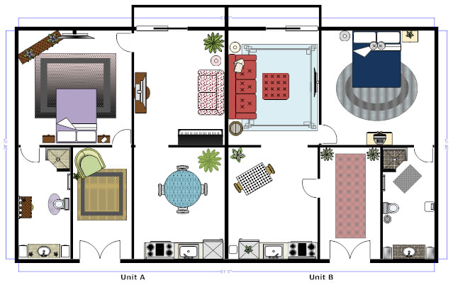 floor plans learn how to design and plan floor plans rh smartdraw com design floor plans free online design floor plans free online