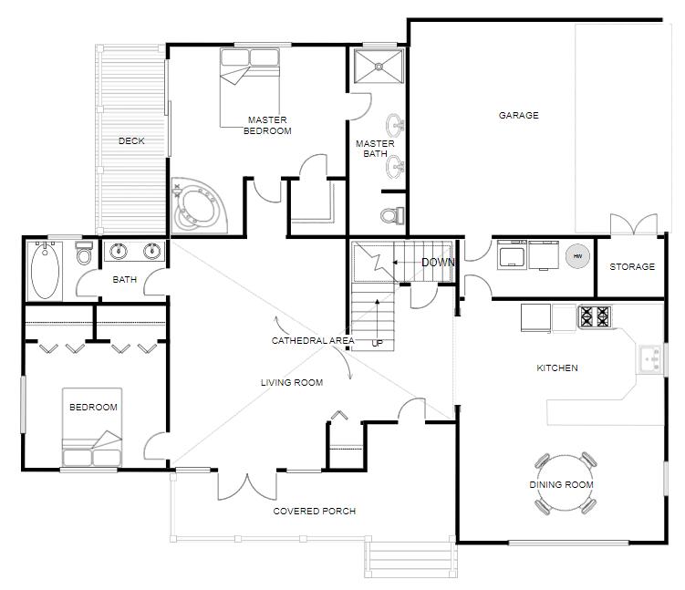 25 Example Of Garage Designs: Floor Plan Creator And Designer