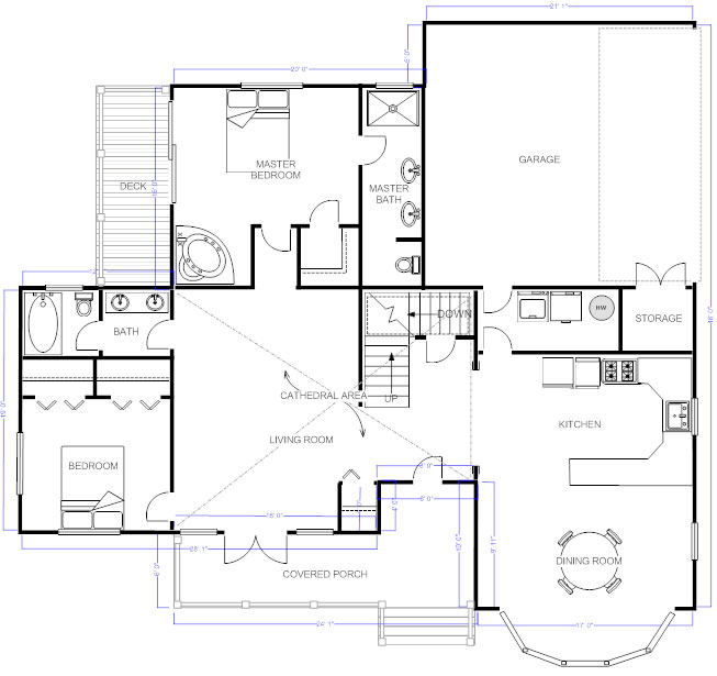 Charming Try SmartDraw Free. Draw Floor Plans ...