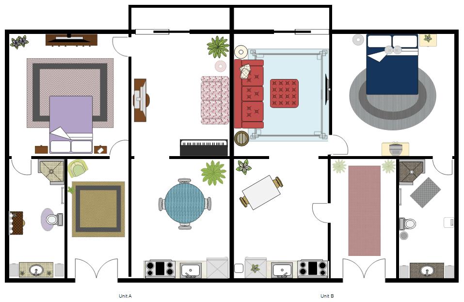Furniture Design Plan free interior design software - download easy home & office plans