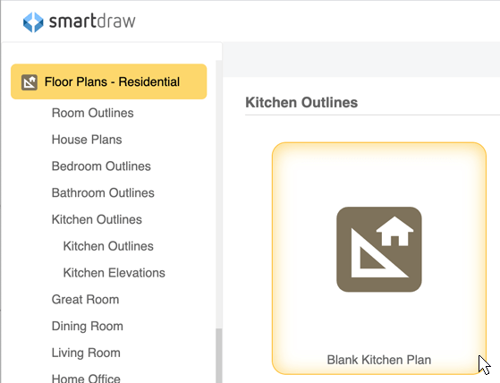 kitchen template - Bedroom Design Template
