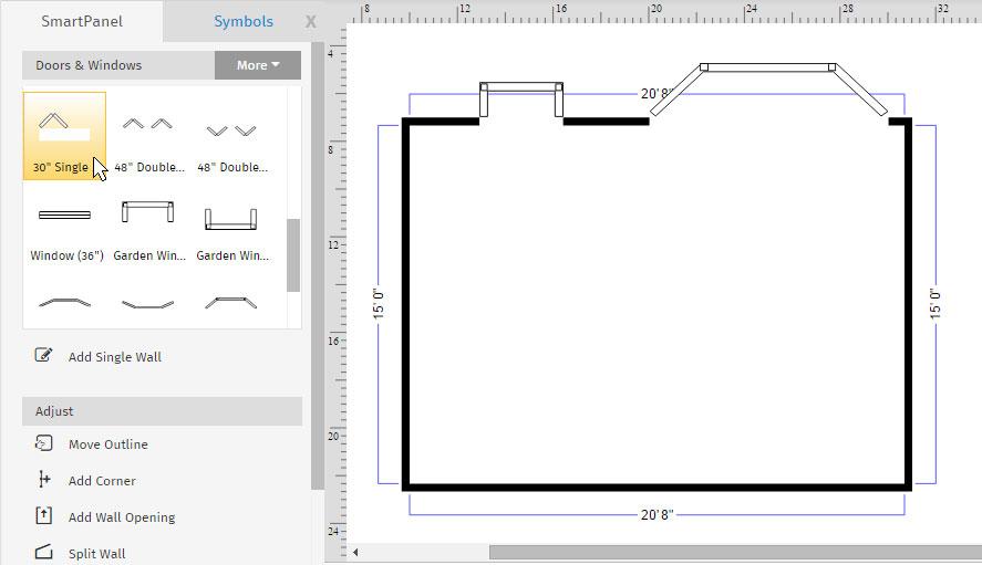 Wonderful How To Make A Floor Plan On The Computer Part - 1: Floor Plan Kitchen