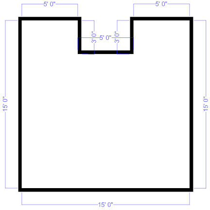 how to draw a floor plan. Floor Plan Outline How To Draw A D