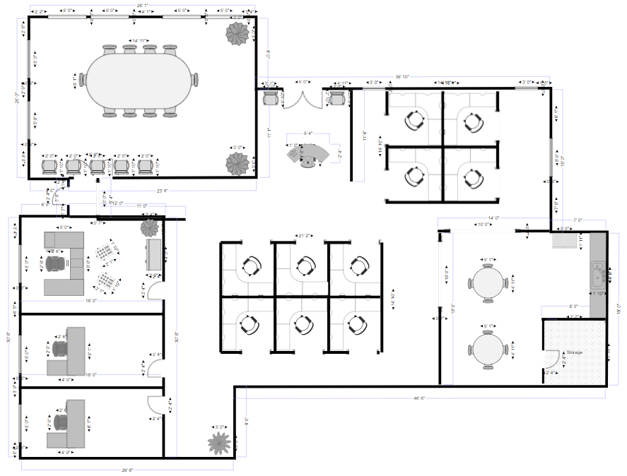 Draw Floor Plans | Try SmartDraw FREE