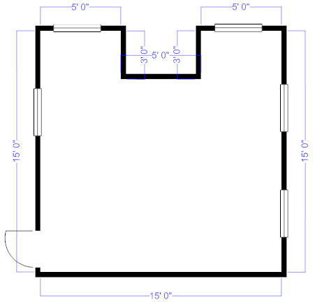 How to measure and draw a floor plan to scale floor plan perimeter malvernweather Image collections