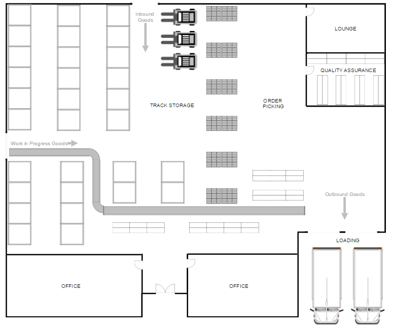 How Much Does It Cost >> Warehouse Layout Design Software - Free Download