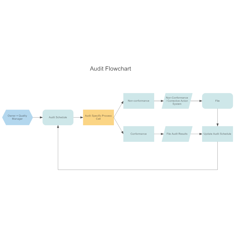 Example Image: Audit Flowchart