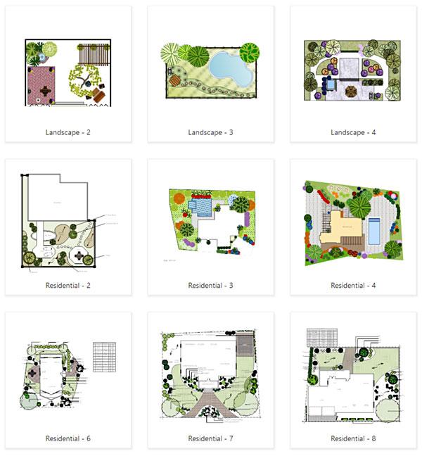Garden templates - Garden Design & Layout Software - Online Garden Designer And Free