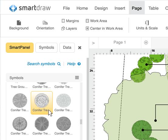 Garden design layout software online garden designer and free garden symbols malvernweather Image collections