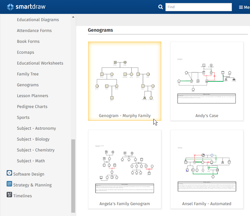 Genogram Maker - Templates | Free Download & Online App