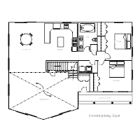House Plan   Contemporary