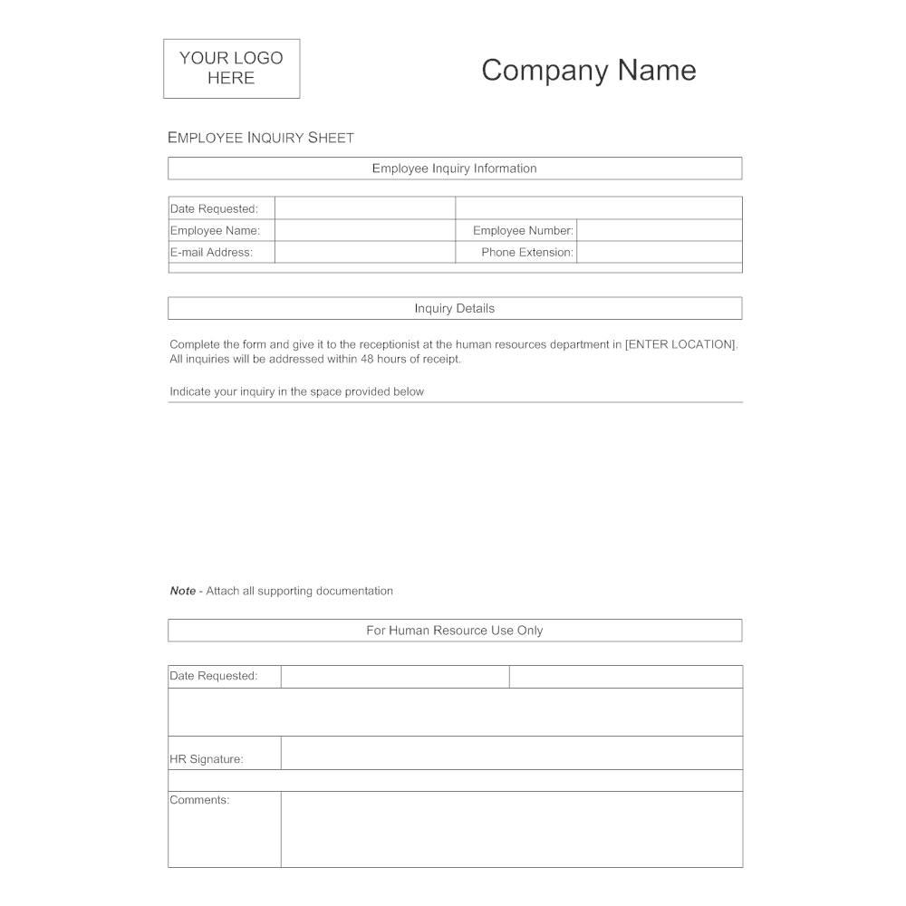 employee availability sheets