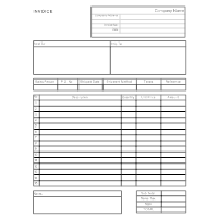 Invoice Learn What An Invoice Is See Examples Learn How To Make One - Invoice form